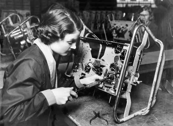 EKCO works. c.1930s