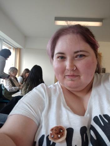 Claire Pitt-Kibble Free the Nipple Selfie